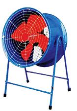 DG型低噪声管道轴流风机